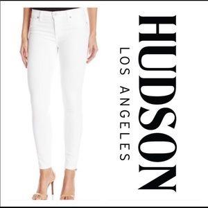 Hudson jeans Nico midrise skinny jeans